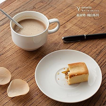 bbujsgh la taza de café kit tazas de leche de cerámica Sub taza de té de la tarde minimalista Latte Espresso, Taza de café, 85 * 65 mm: Amazon.es: Hogar