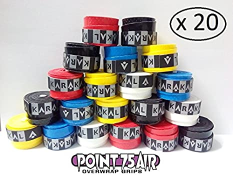 20 OVERGRIP KARAKAL AIR POINT 75 DISPONIBLES VARIOS COLORES ...