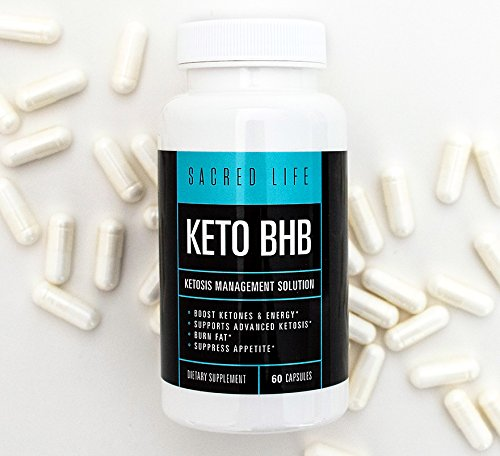 Keto BHB Supplement for Ketosis Management - Advanced Weight Loss, 60 ()