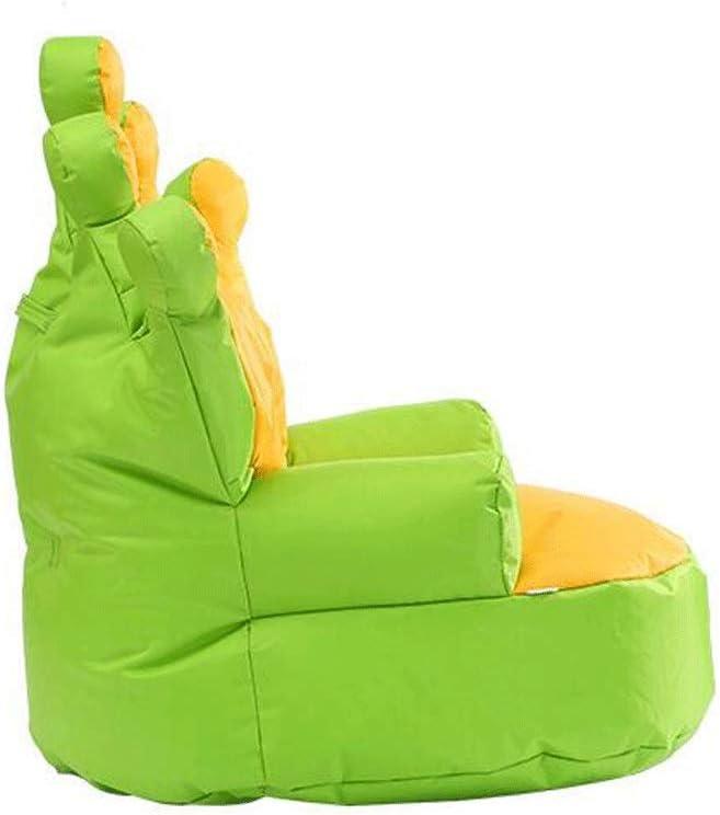 RUNWEI Fauteuil Poire, Canapé Paresseux, Fauteuil Lounge Jeu, Sac D\'haricot, Salon Balcon Décoration Décoration canapé Paresseux (Color : Yellow Green) Yellow Green