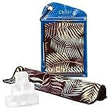 Chill Pal Mesh Cooling Towel (Mahogany, 12 x 40 inch)