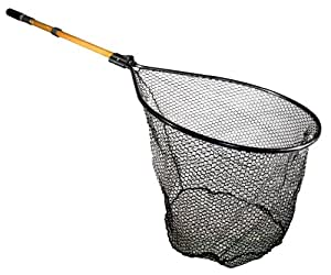 Frabill Conservation Series Landing Net with Camlock Reinforced Handle, 20 X 23-Inch