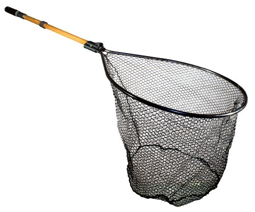 Frabill Conservation Series Landing Net with Camlock Reinforced Handle, 20 X 23-Inch, Outdoor Stuffs
