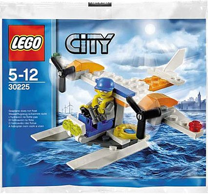 Coast Guard Seaplane Bagged 30225