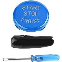 Keenso Motor-uit-schakelaar, start-stopknop voor auto (blauw)