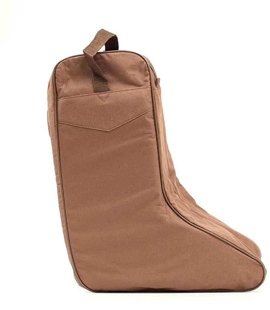 M&F Western Brown Nylon Water-Resistant Boot Bag