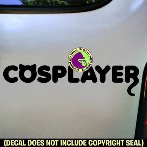 COSPLAYER Cosplay Anime Comic Con Vinyl Decal Sticker B ()