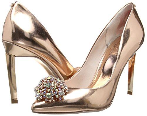 Peetch Baker rose Gold Para Ted Mujer De Zapatos Tacón Oro 5FH7Ox