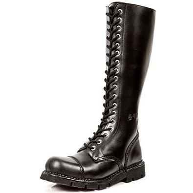76e3d12777f9a New Rock Newrock NR M.NEWMILI19 S1 Black Boots - Unisex
