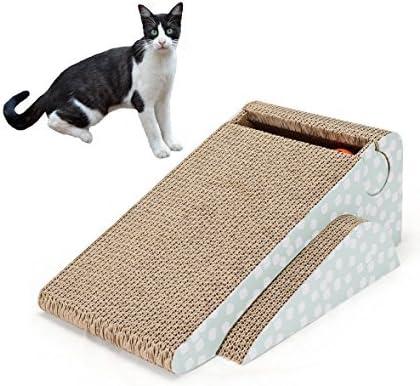 Dimensión del cartón rascador de gato: 22,8 x 42,9 x 16,2 cm.,Material del poste rascador para gato: