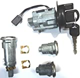 1997 1998 1999 New Chevy Cavalier OEM Ignition/Doors/Trunk Lock Key Cylinder Set With 2 Keys FOR MANUAL TRANSMISSION ONLY