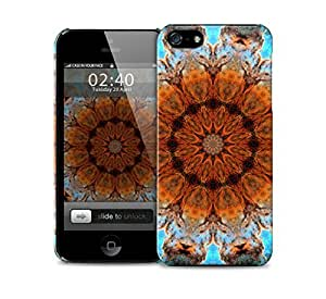abstract bold kaleidoscope pattern iPhone 5 / 5S protective case by lolosakes
