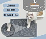 PetLike Cat Litter Mat Kitty Litter Mats, Traps