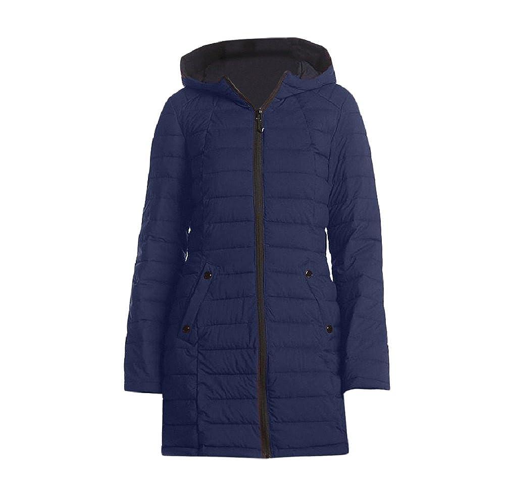 b923ee1b5 Halifax HFX Women's Blue Down Stretch Halitech Coat
