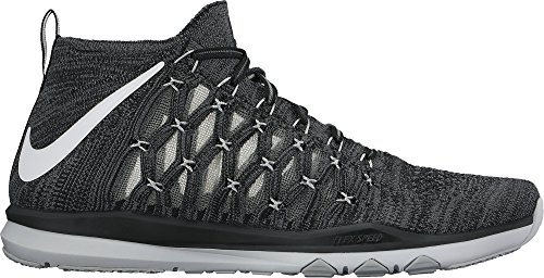 White Grey Cross Ultrafast Grey Nike Train Black Shoes Flyknit dark wolf Mens Training pHnOq781