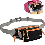 Best Waist Bag For Camping Running - SINOKAL Fanny Pack Waist bag with Water Bottle Review