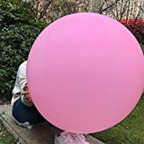 Big Balloon 36 Inch Round Latex Giant Balloon Large Thick Balloons for Photo Shoot/Birthday/Wedding Party/Festival/Event/Carnival Decorations