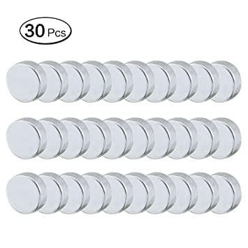 Imanes redondos de 8 mm para frigorífico, 30 unidades ...