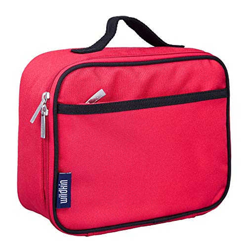 Wildkin Lunch Box, Cardinal Red (Box Red Lunch)