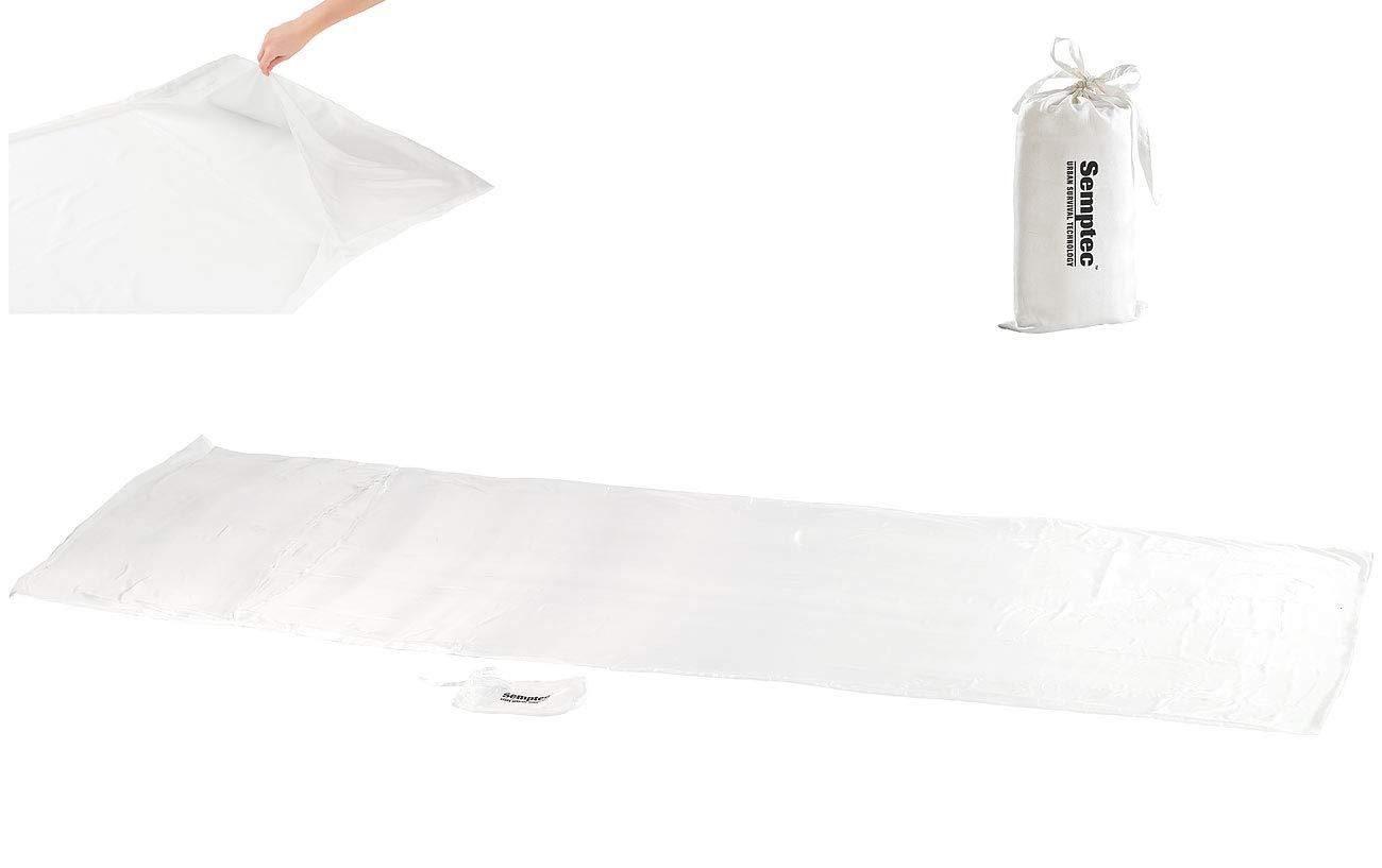 Semptec Urban Survival Technology Schlafsack Seide  Seidenschlafsack aus 100% Habotai-Seide (Hüttenschlafsack) (Innenschlafsack)