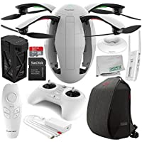 PowerVision PowerEgg Drone with 360 Panoramic 4K HD Camera and 3-axis Gimbal with Maestro + PowerVision Backpack Starters Bundle