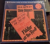BROADWAY SHOW-STOPPERS THE SOUND OF MUSIC MY FAIR LADY FIDDLER ON THE ROOF 3 LPs
