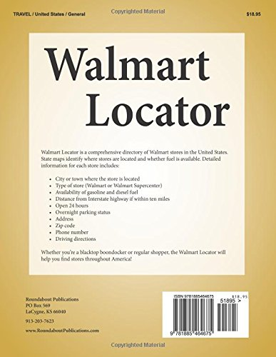 Walmart Locator Third Edition Directory Of Stores In The United - Map-of-walmart-stores-in-us