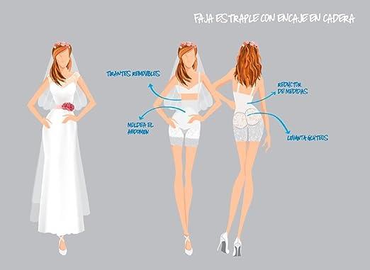 Control Bride Womens Fajas Colombianas Strapless Girdle Bride Wedding Dress Shaper Faja para Vestido de Novia 081651 at Amazon Womens Clothing store: