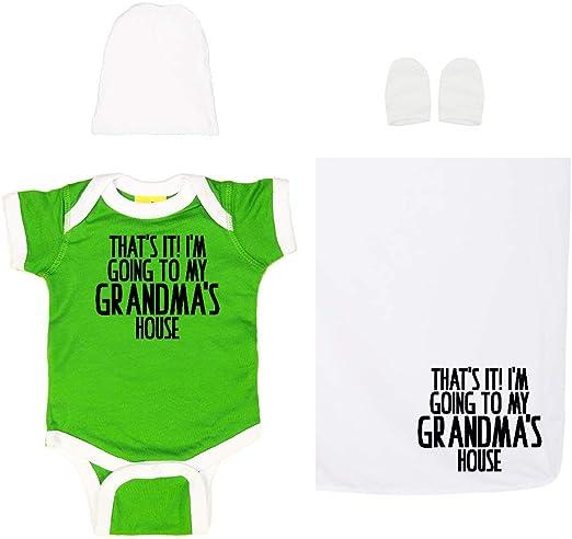 That/'s IT I/'m going to Grandma/'s House funny Baby Bib