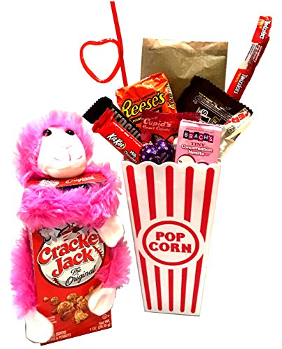 Valentines Gift - Valentines Care Package - Campus Care Package - Valentines Movie Night - Lots of Selections (Valentines Individual Popcorn)