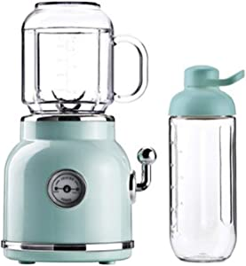 Kitchen Flower Retro Mini Blender Tritan BPA BPA Free Jar Smoothie Ice Crush Blender 600mL Capacity 220v