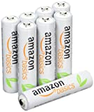 #9: AmazonBasics AAA Rechargeable Batteries (8-Pack) Pre-charged - Packaging May Vary