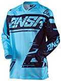 Answer Racing A18 Syncron Youth Boys Off-Road Motorcycle Jerseys - Cyan/Navy / Medium