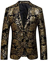 Men's Fashion Suit Jacket Blazer One Button Luxury Weddings Party Dinner Prom Tu