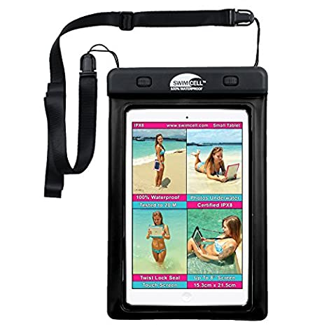 #1 Waterproof iPad Case For iPad MINI. Kindle, Camera and Other Dry Valuables. 5.75