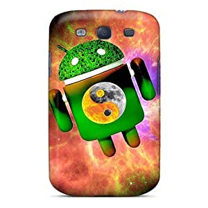 Awesome JDqadWE3279vfdXX Bernardrmop Defender Tpu Hard Case Cover For Galaxy S3- Nebula Android