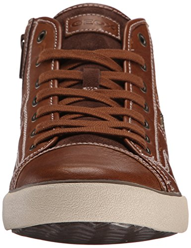 Geox U Smart C, Men's Trainers Whiskey Smooth Leather