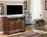 Burnished Brown TV Stand - Signature Design by Ashley Furniture