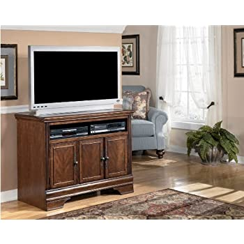 Burnished Brown TV Stand   Signature Design By Ashley Furniture