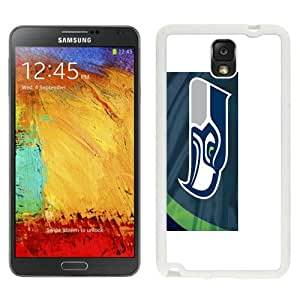 Seattle Seahawks (2) White Best Sale Fantastic Samsung Galaxy Note 3 Cover Case