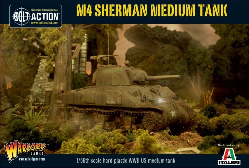 Used, Bolt Action M4 Sherman Medium Tank 1:56 WWII Military for sale  Delivered anywhere in USA