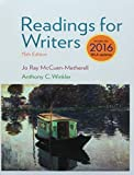 img - for Bundle: Readings for Writers, 2016 MLA Update, Loose-Leaf Version, 15th + LMS Integrated MindTap English, 1 term (6 months) Printed Access Card book / textbook / text book
