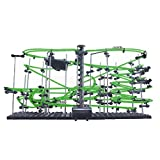 Kids Lv4 Marble Runs DIY Rollercoaster Building Toy-Glows in the Dark