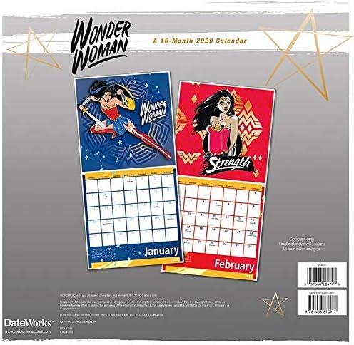 Harley Quinn Offizieller Kalender 2020 Wandkalender Größe 30x30 cm