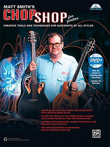 Alfred Matt Smith's Chop Shop for Guitar - Book & DVD (Matt Smith Artist)