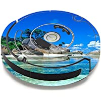 Skin Decal Vinyl Wrap For IRobot Roomba 650 655 Vacuum / Island Paradise Beach