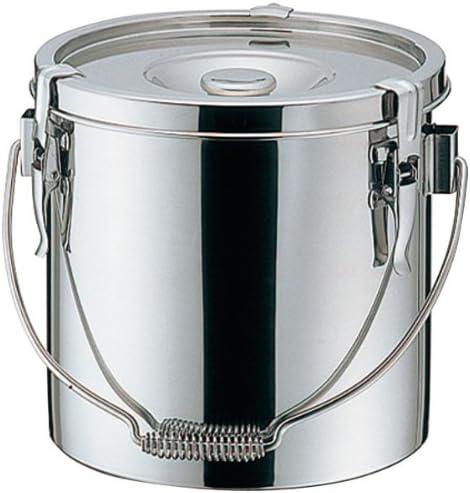 仔犬印 K 19-0 電磁 厚底 給食缶 21cm
