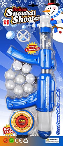Indoor Snowball Shooter