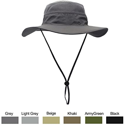 51b48b4f97a Amazon.com  WELKOOM Sun Hat for Men   Women