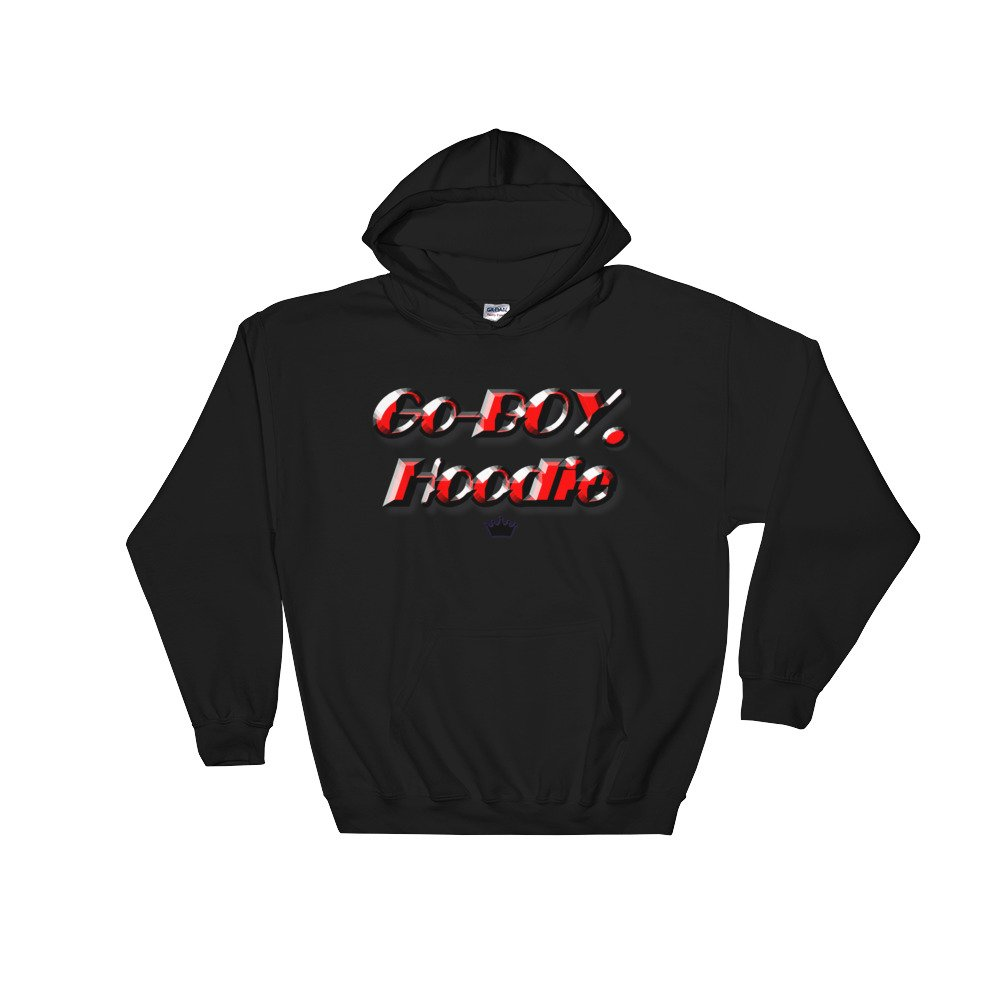 Hollywood2000 2D /& 3D Designs Go-BOY Hoodie Hooded Sweatshirt